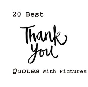 Best thank you quotes with pics