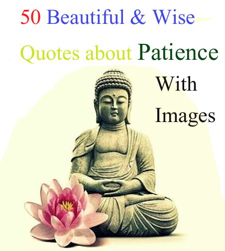 50 Beautiful and Wise Quotes About Patience With Images ...