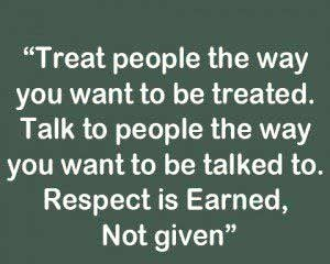 respect quote about love