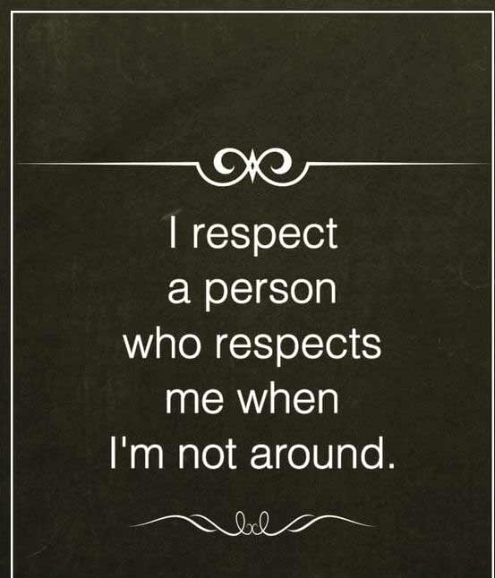 Good Best Respect Quotes With Images