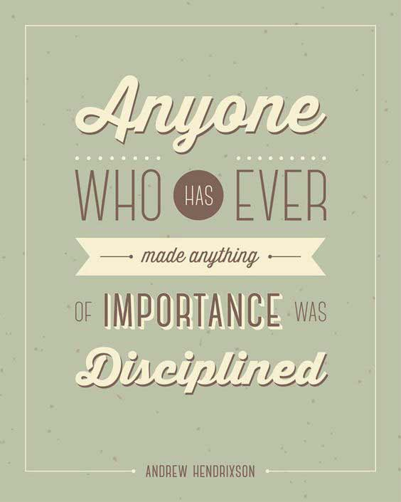 quotes of discipline