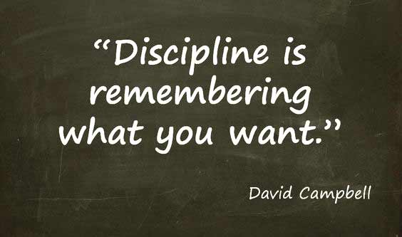 slogan on discipline