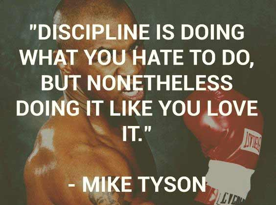 Best Discipline quotes with images