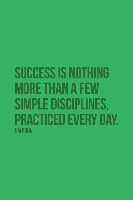 motivation discipline quote
