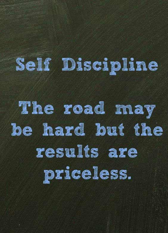 quotes on self discipline