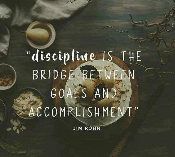 Discipline quotes for gym